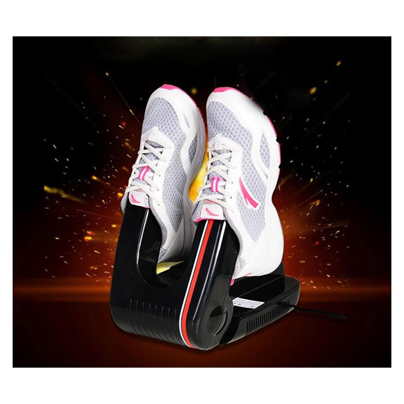 Электросушилка для обуви/ носков/ перчаток с системой ультрафиолетовой дезинфекции и таймером