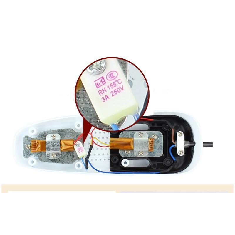 Электросушилка для обуви SuperDry: огнеупорный пластик, раздвижная подошва 201275