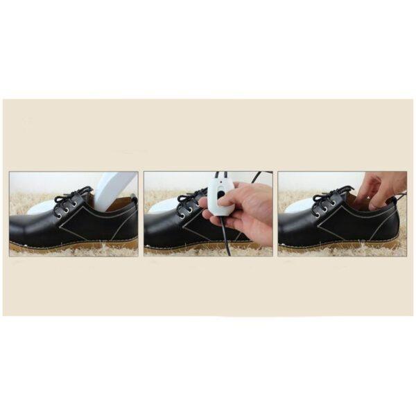 21575 - Электросушилка для обуви SuperDry: огнеупорный пластик, раздвижная подошва