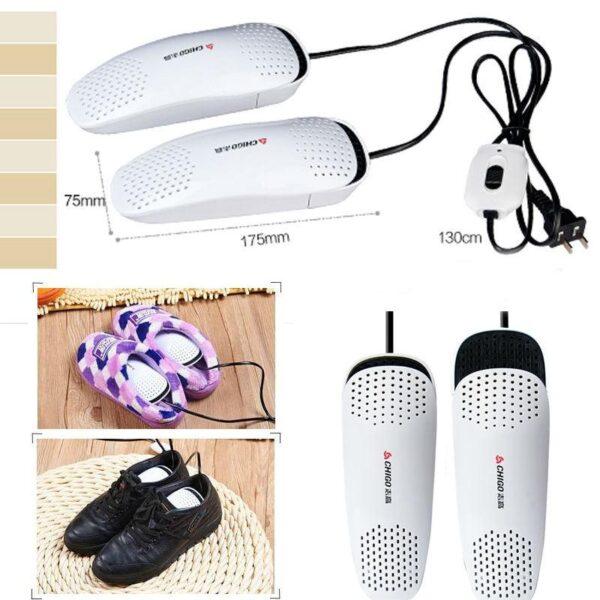 21580 - Электросушилка для обуви SuperDry: огнеупорный пластик, раздвижная подошва