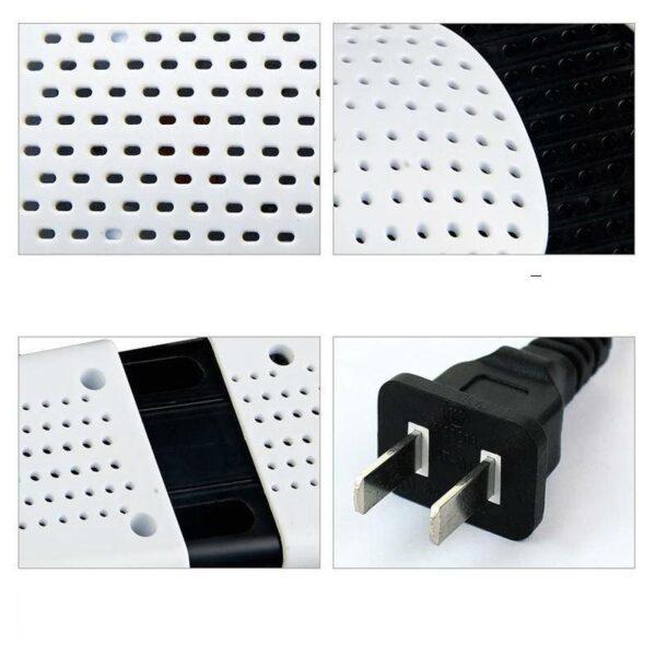 21582 - Электросушилка для обуви SuperDry: огнеупорный пластик, раздвижная подошва
