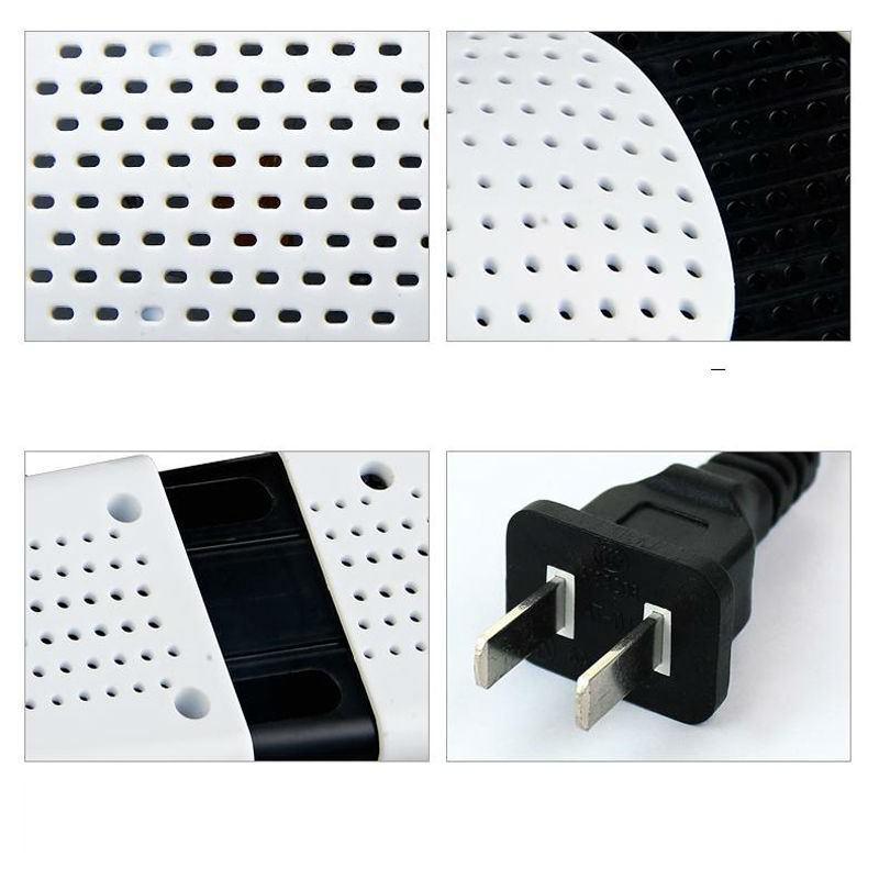 Электросушилка для обуви SuperDry: огнеупорный пластик, раздвижная подошва 201284