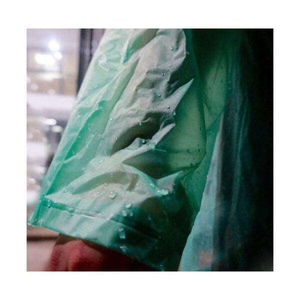 21827 - Плащ-дождевик с капюшоном Santura: водонепроницаемый ПВХ