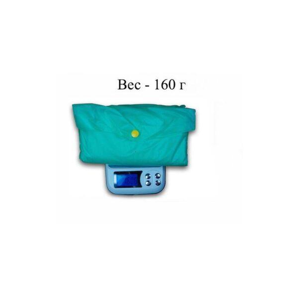 21833 - Плащ-дождевик с капюшоном Santura: водонепроницаемый ПВХ
