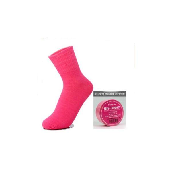 21848 - Прессованные (малообъемные) носки для путешествий и не только: супер-компактное хранение, хлопок