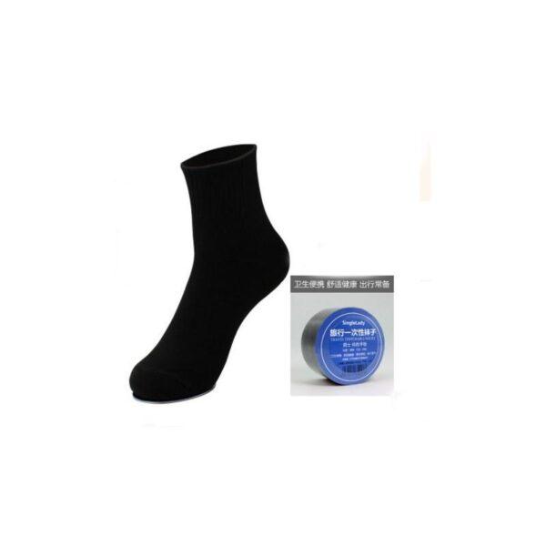 21852 - Прессованные (малообъемные) носки для путешествий и не только: супер-компактное хранение, хлопок