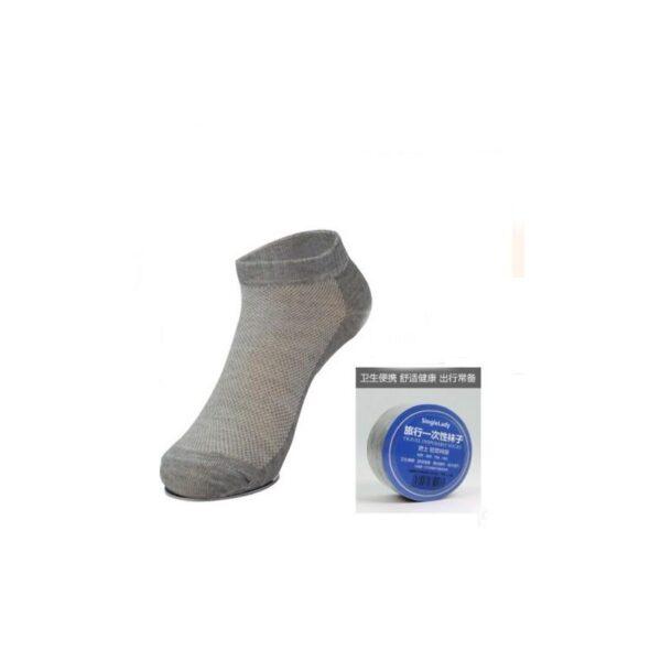 21856 - Прессованные (малообъемные) носки для путешествий и не только: супер-компактное хранение, хлопок