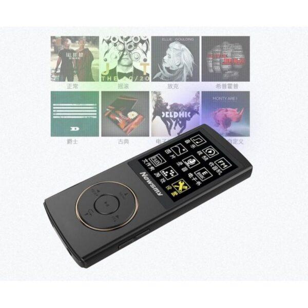 22086 - Цифровой аудио/видео плеер Newsmy F33 - до 50 часов работы, 8 Гб, FM-радио, FLAC, APE, MP 3