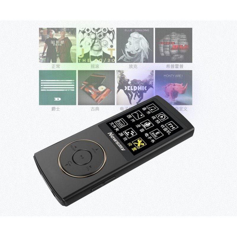 Цифровой аудио/видео плеер Newsmy F33 – до 50 часов работы, 8 Гб, FM-радио, FLAC, APE, MP 3