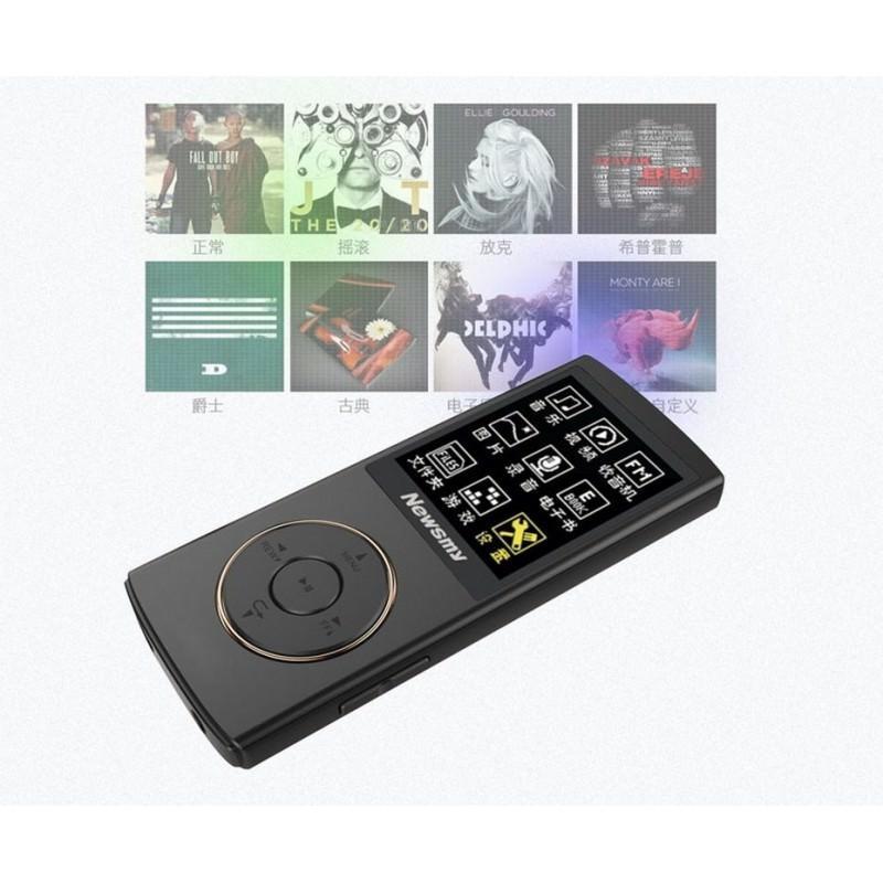 Цифровой аудио/видео плеер Newsmy F33 - до 50 часов работы, 8 Гб, FM-радио, FLAC, APE, MP 3 - Черный