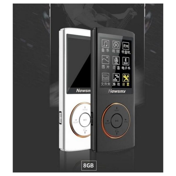 22089 - Цифровой аудио/видео плеер Newsmy F33 - до 50 часов работы, 8 Гб, FM-радио, FLAC, APE, MP 3