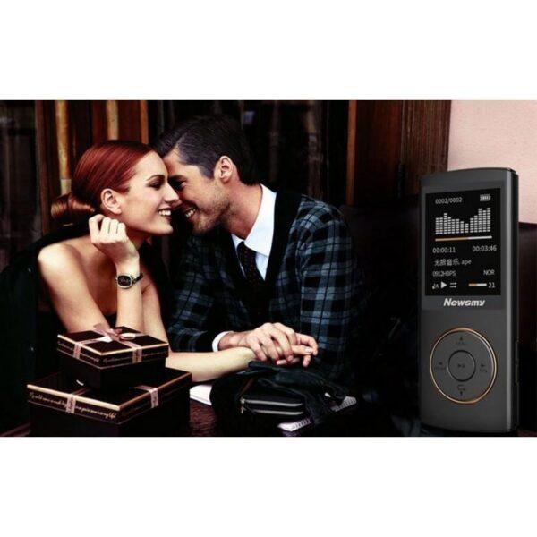 22091 - Цифровой аудио/видео плеер Newsmy F33 - до 50 часов работы, 8 Гб, FM-радио, FLAC, APE, MP 3