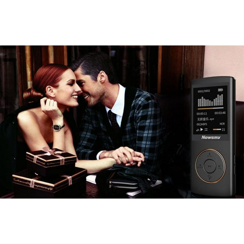 Цифровой аудио/видео плеер Newsmy F33 – до 50 часов работы, 8 Гб, FM-радио, FLAC, APE, MP 3 201694