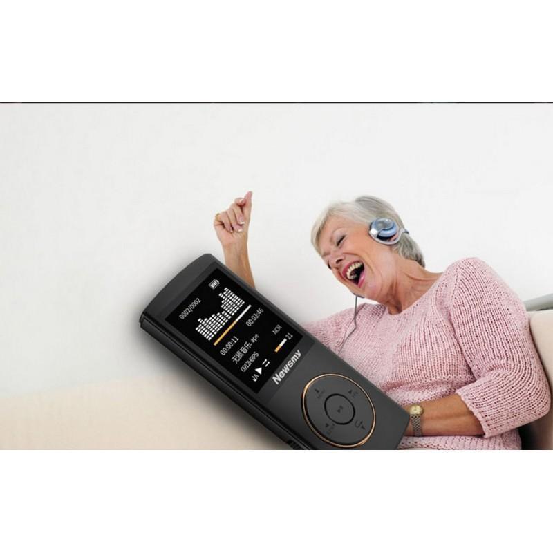 Цифровой аудио/видео плеер Newsmy F33 – до 50 часов работы, 8 Гб, FM-радио, FLAC, APE, MP 3 201696
