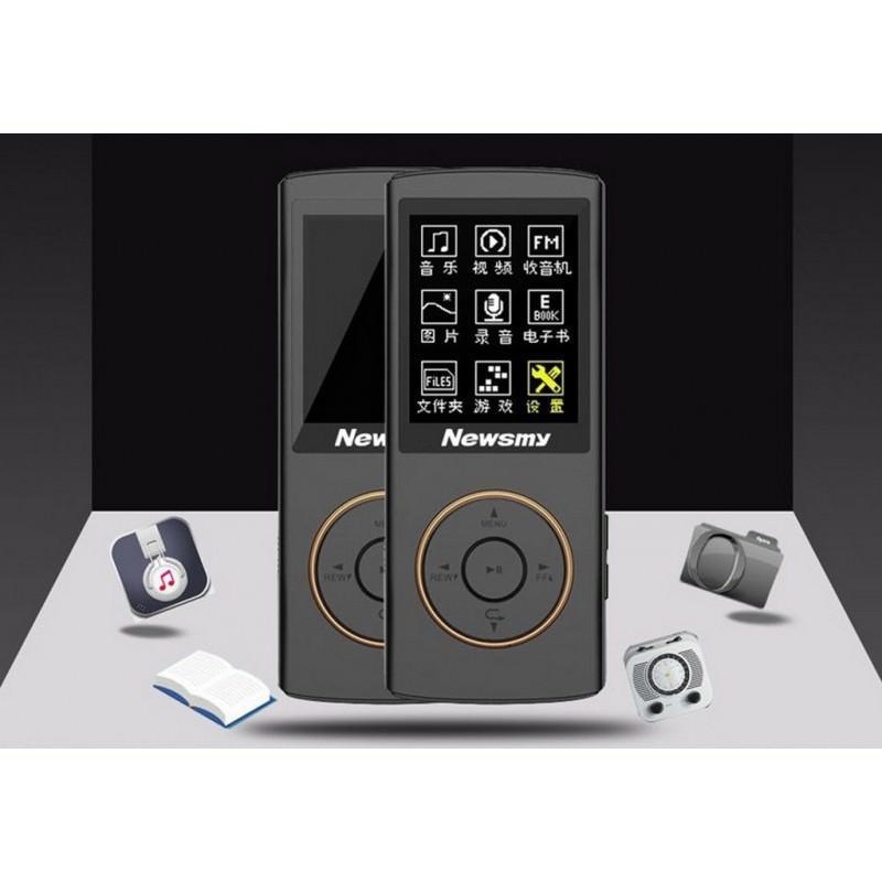 22094 - Цифровой аудио/видео плеер Newsmy F33 - до 50 часов работы, 8 Гб, FM-радио, FLAC, APE, MP 3