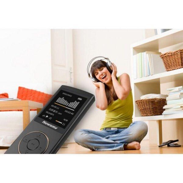 22097 - Цифровой аудио/видео плеер Newsmy F33 - до 50 часов работы, 8 Гб, FM-радио, FLAC, APE, MP 3