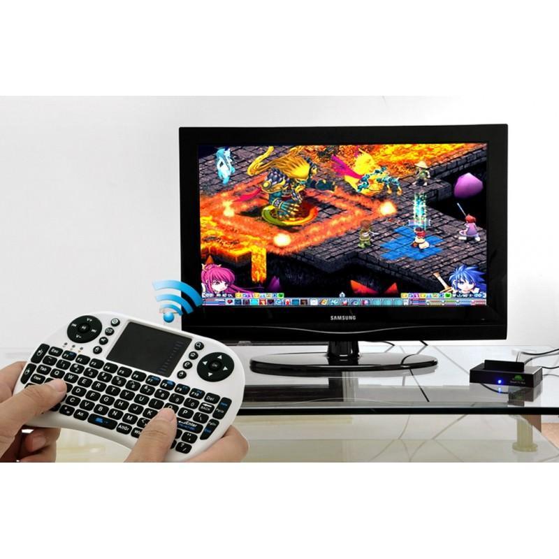 Беспроводная клавиатура-геймпад QWERTY – до 10 метров, до 1 месяца без подзарядки, тачпад 164606