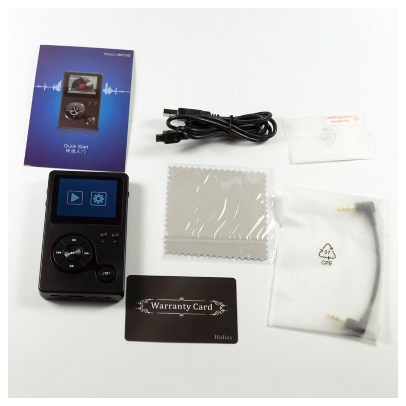 Аудиоплеер Hidizs AP100 – 2,4 дюйма TFT-экран, 8 Гб + поддержка до 64 Гб, ЦАП CS4398 164711