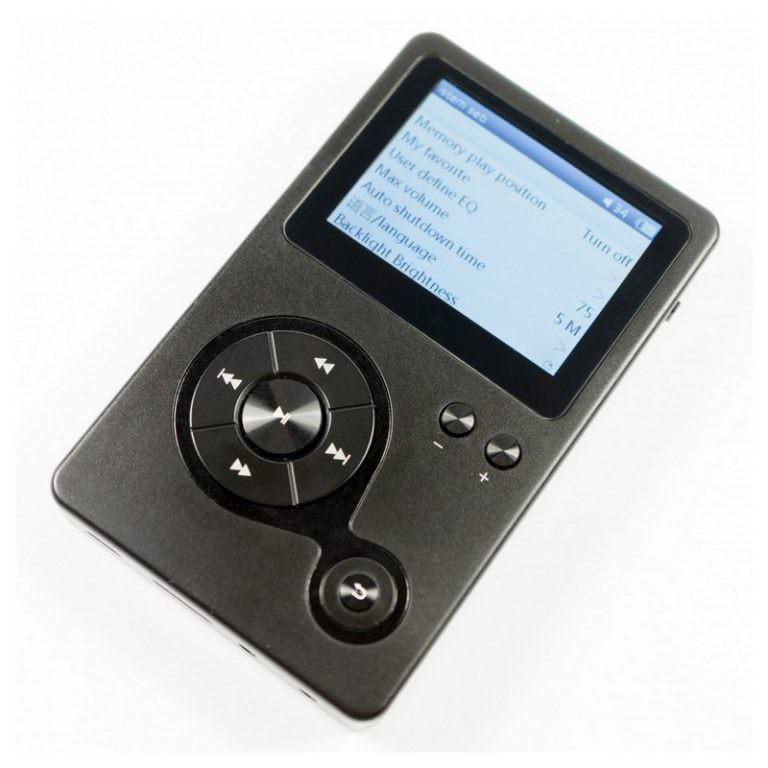22352 - Аудиоплеер Hidizs AP100 - 2,4 дюйма TFT-экран, 8 Гб + поддержка до 64 Гб, ЦАП CS4398
