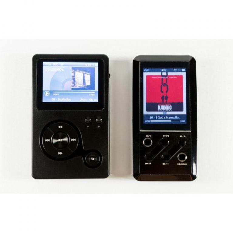 22356 - Аудиоплеер Hidizs AP100 - 2,4 дюйма TFT-экран, 8 Гб + поддержка до 64 Гб, ЦАП CS4398
