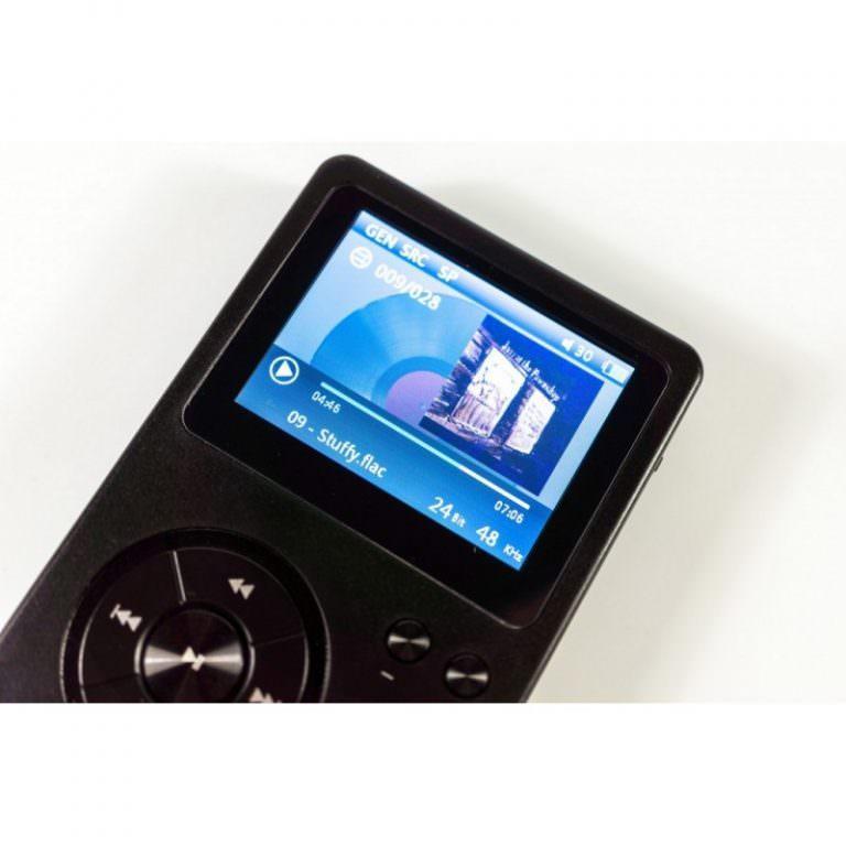 22357 - Аудиоплеер Hidizs AP100 - 2,4 дюйма TFT-экран, 8 Гб + поддержка до 64 Гб, ЦАП CS4398