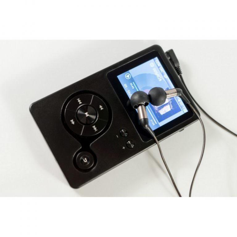 22358 - Аудиоплеер Hidizs AP100 - 2,4 дюйма TFT-экран, 8 Гб + поддержка до 64 Гб, ЦАП CS4398