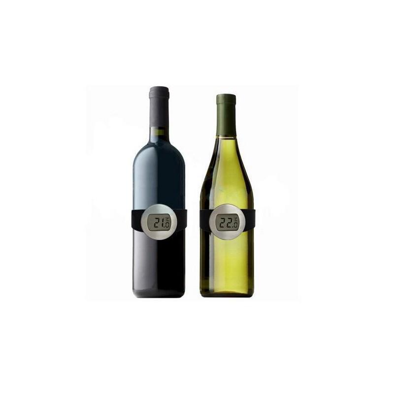 Стильный электронный винный термометр-галстук: для бутылок диаметром 65-80 мм, место под логотип 164728