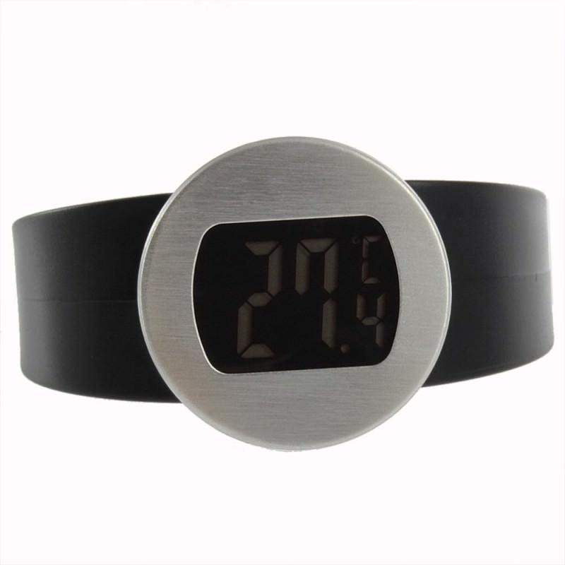 Стильный электронный винный термометр-галстук: для бутылок диаметром 65-80 мм, место под логотип 164733