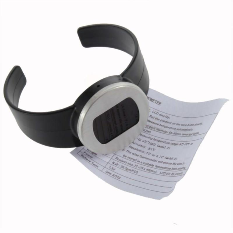 Стильный электронный винный термометр-галстук: для бутылок диаметром 65-80 мм, место под логотип 164734