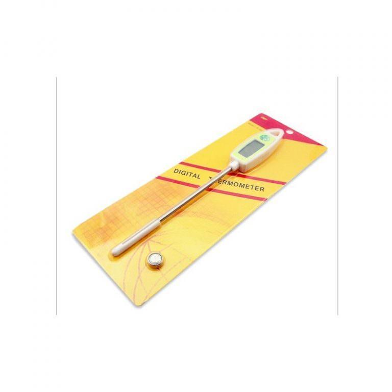 22405 - Универсальный кухонный термометр с щупом Ruona: подходит для любых продуктов, мяса, жидкостей