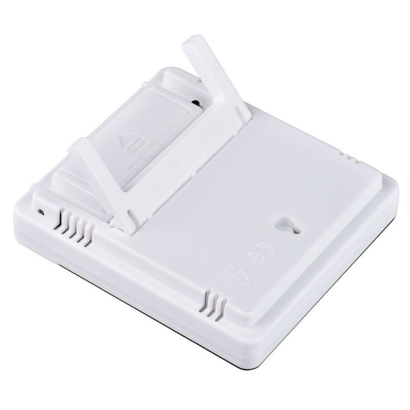 Электронный комнатный термометр-гигрометр HTC-1: температура, влажность, дата, время, будильник 164778