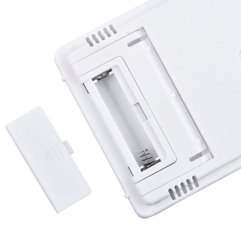 Электронный комнатный термометр-гигрометр HTC-1: температура, влажность, дата, время, будильник 164783