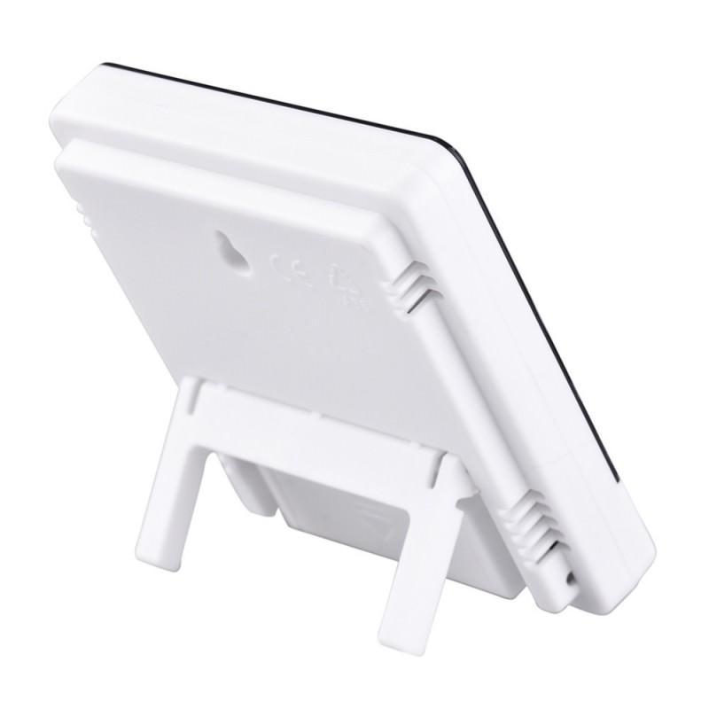 Электронный комнатный термометр-гигрометр HTC-1: температура, влажность, дата, время, будильник 164784