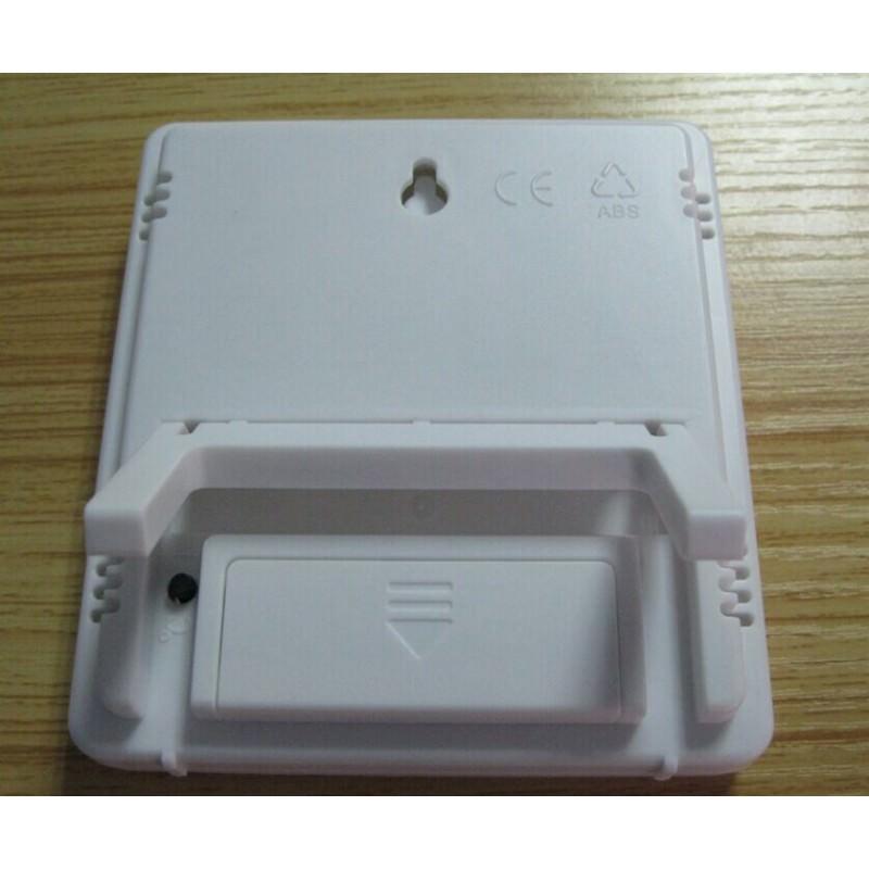 Электронный комнатный термометр-гигрометр HTC-1: температура, влажность, дата, время, будильник 164795