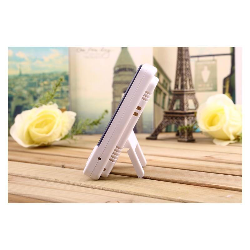 Электронный комнатный термометр-гигрометр HTC-1: температура, влажность, дата, время, будильник 164806