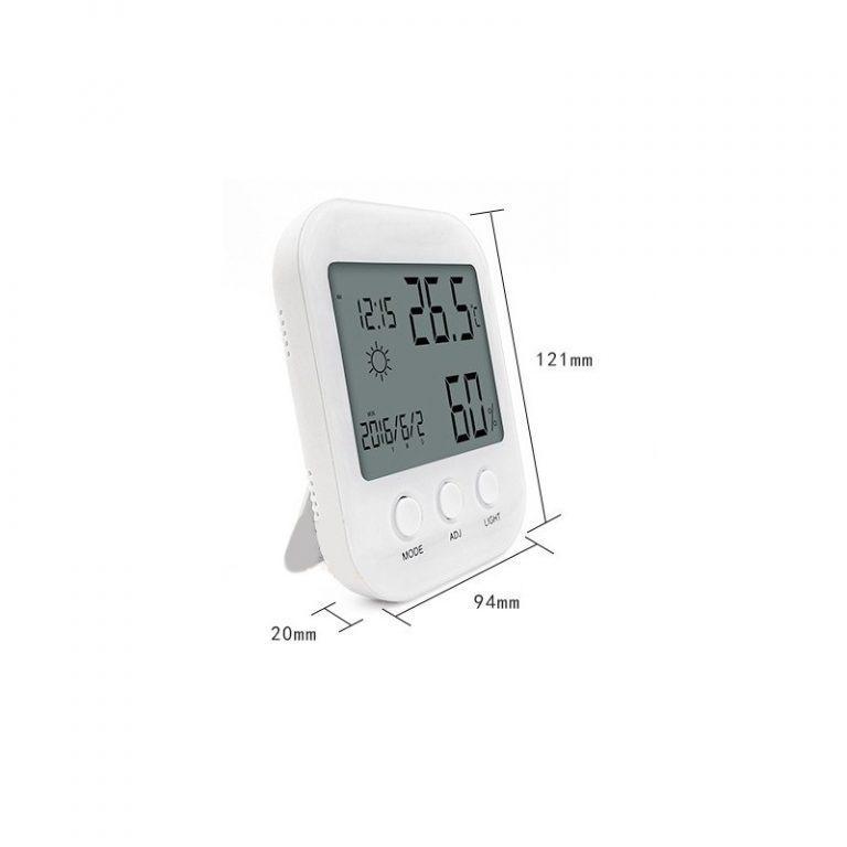22450 - Домашняя мини-метеостанция: температура, влажность воздуха, погода, часы, будильник, календарь