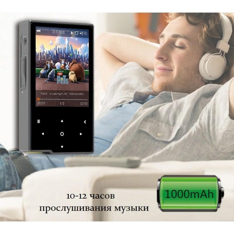 Цифровой аудиоплеер Hidizs AP60 – ЦАП AK4452VN, 2-дюймовый TFT экран, сенсорные кнопки, Bluetooth 164827