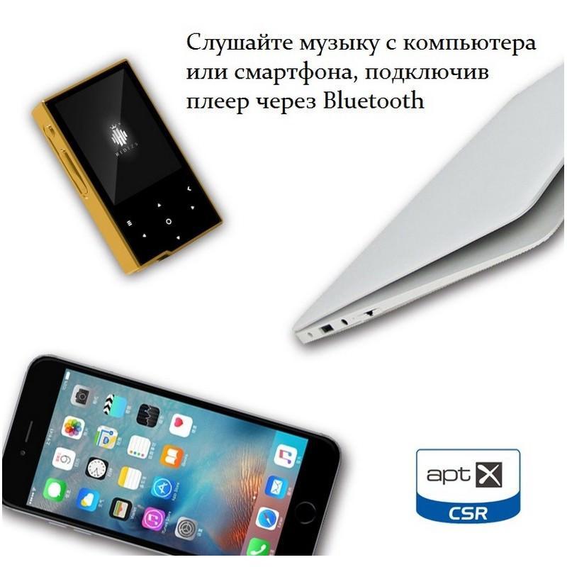 Цифровой аудиоплеер Hidizs AP60 – ЦАП AK4452VN, 2-дюймовый TFT экран, сенсорные кнопки, Bluetooth 164829