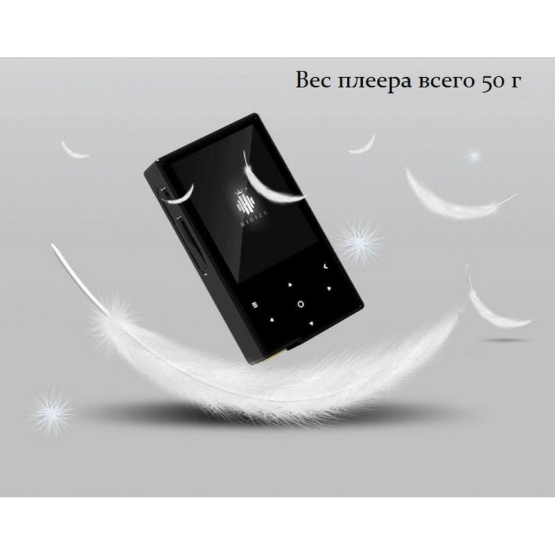 Цифровой аудиоплеер Hidizs AP60 – ЦАП AK4452VN, 2-дюймовый TFT экран, сенсорные кнопки, Bluetooth 164830