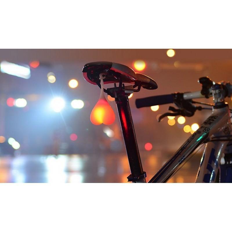 Силиконовая задняя велосипедная фара с LED-подсветкой 164880