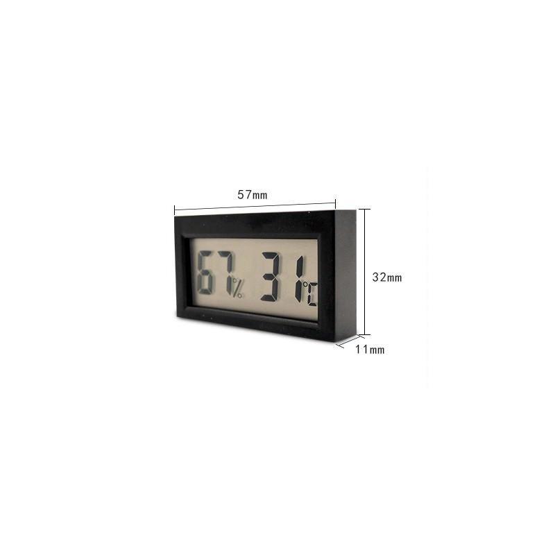 Простой электронный термометр-гигрометр с ЖК-дисплеем
