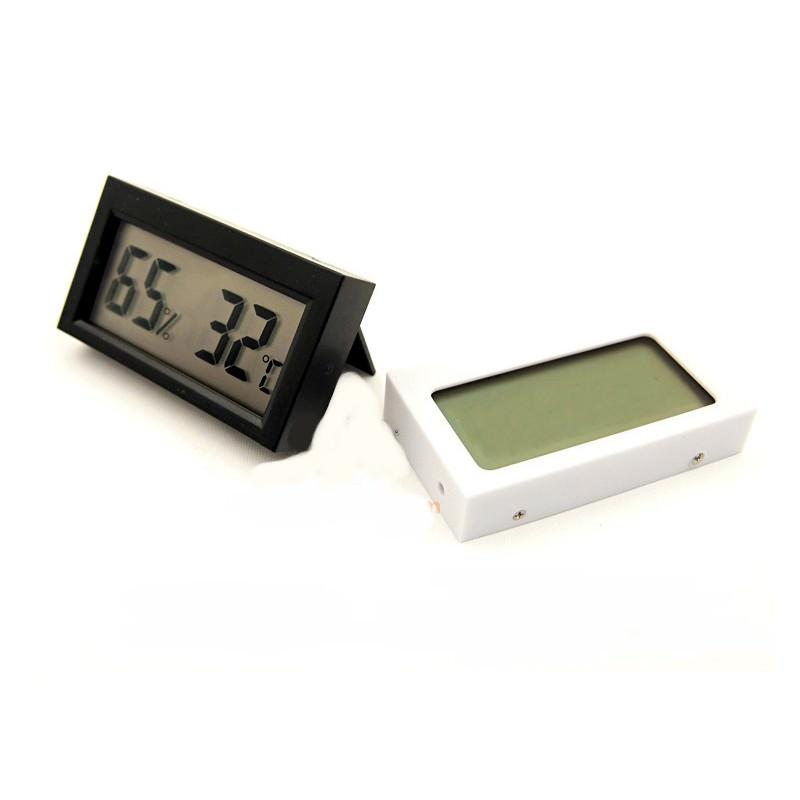 Простой электронный термометр-гигрометр с ЖК-дисплеем 164972