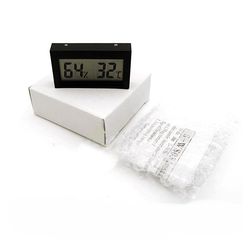 Простой электронный термометр-гигрометр с ЖК-дисплеем 164974