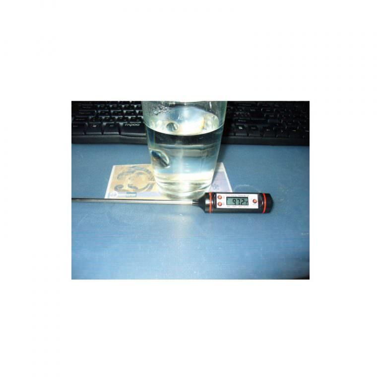 22611 - Недорогой электронный кухонный термометр с щупом TP101: для мяса, жидкостей, продуктов