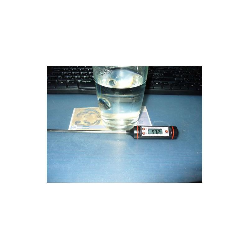 Недорогой электронный кухонный термометр с щупом TP101: для мяса, жидкостей, продуктов 164981