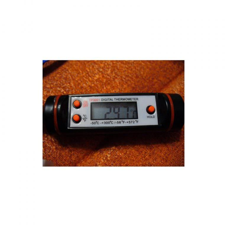 22612 - Недорогой электронный кухонный термометр с щупом TP101: для мяса, жидкостей, продуктов