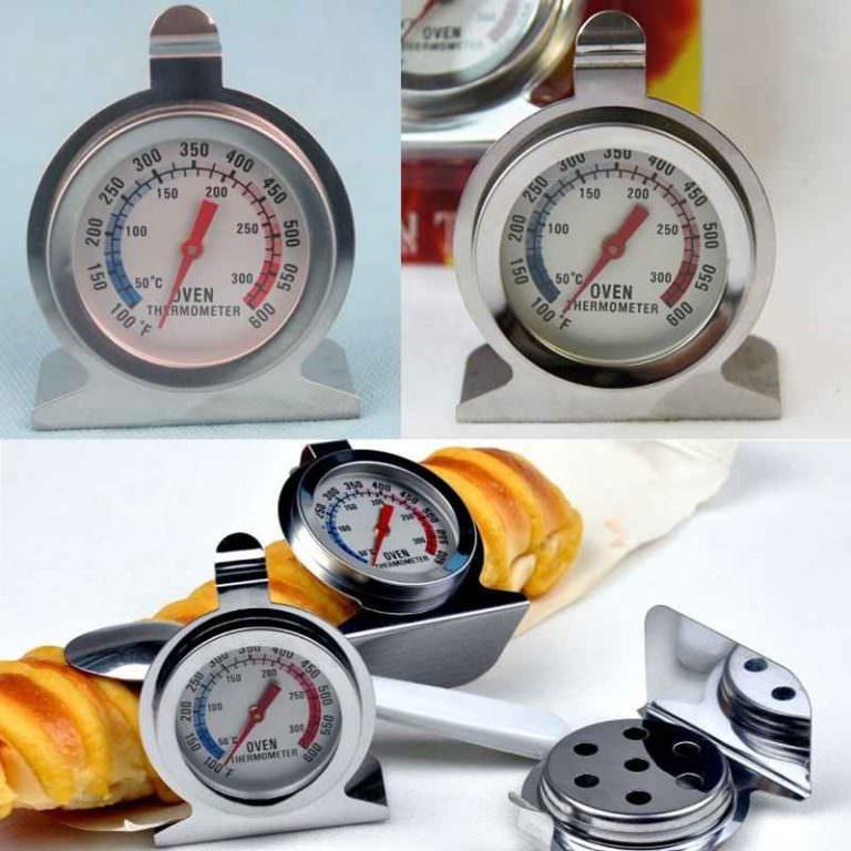 22622 - Кухонный механический термометр для духовки: нержавеющая сталь