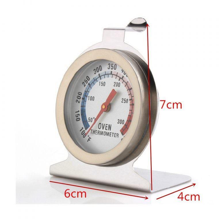 22624 - Кухонный механический термометр для духовки: нержавеющая сталь