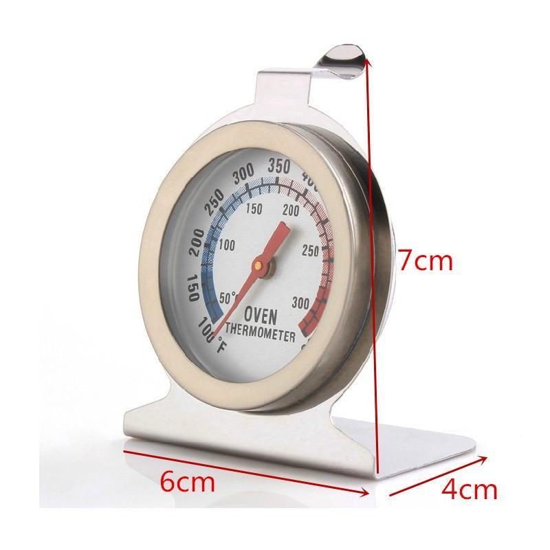 Кухонный механический термометр для духовки: нержавеющая сталь