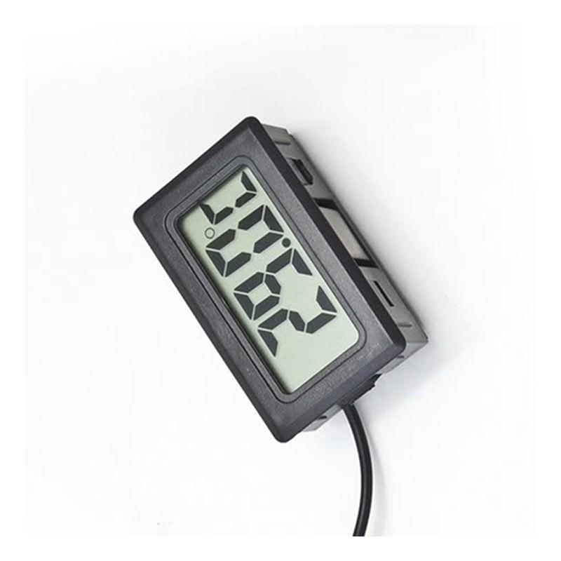 Электронный термометр с выносным водонепроницаемым зондом для аквариума/ холодильника 165108